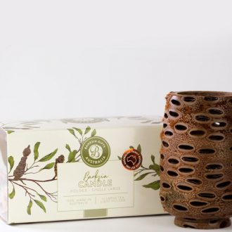 Tall Hollow Tea Light Boxed