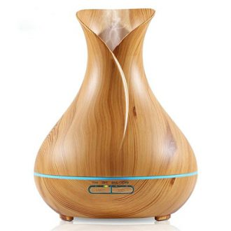 aromatherapy diffuser wood grain